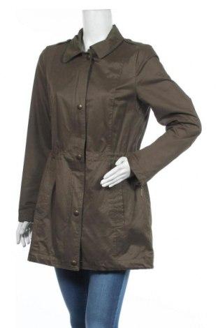 Дамско яке Esprit, Размер M, Цвят Зелен, 57% памук, 34% полиестер, 9% полиамид, Цена 14,29лв.