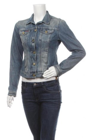 Γυναικείο μπουφάν Massimo Dutti, Μέγεθος S, Χρώμα Μπλέ, Βαμβάκι, Τιμή 21,82€