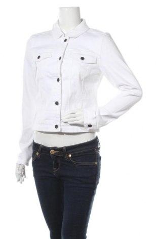 Дамско яке Object, Размер L, Цвят Бял, 95% памук, 3% полиестер, 2% еластан, Цена 47,52лв.