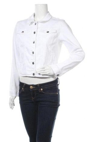 Дамско яке Tamaris, Размер L, Цвят Бял, 98% памук, 2% еластан, Цена 45,56лв.