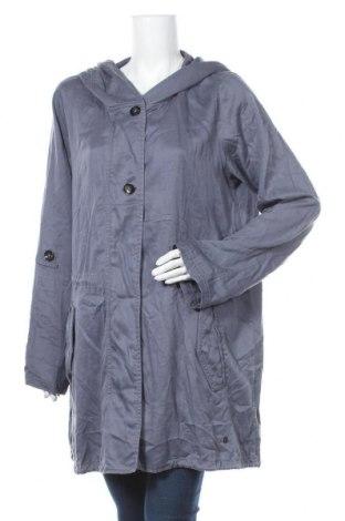 Γυναικείο μπουφάν Tom Tailor, Μέγεθος XXL, Χρώμα Μπλέ, Lyocell, Τιμή 20,72€