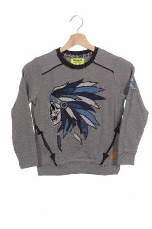 Παιδική μπλούζα Desigual, Μέγεθος 5-6y/ 116-122 εκ., Χρώμα Γκρί, 70% πολυεστέρας, 30% βαμβάκι, Τιμή 11,40€