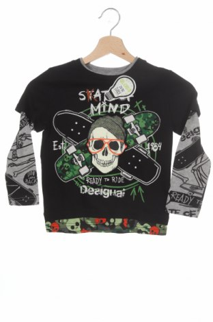 Детска блуза Desigual, Размер 3-4y/ 104-110 см, Цвят Многоцветен, 96% памук, 4% полиестер, Цена 23,60лв.