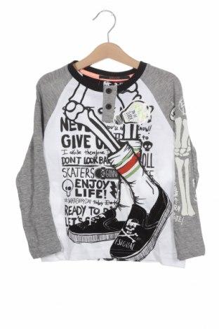 Детска блуза Desigual, Размер 3-4y/ 104-110 см, Цвят Многоцветен, 94% памук, 6% полиестер, Цена 25,37лв.