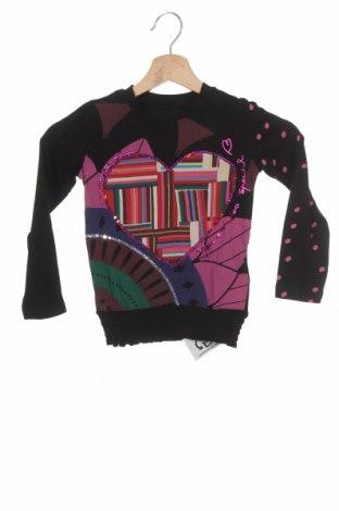 Детска блуза Desigual, Размер 3-4y/ 104-110 см, Цвят Многоцветен, Памук, Цена 27,95лв.