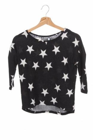 Детска блуза Haily`s, Размер 12-13y/ 158-164 см, Цвят Черен, 95% полиестер, 5% еластан, Цена 11,03лв.