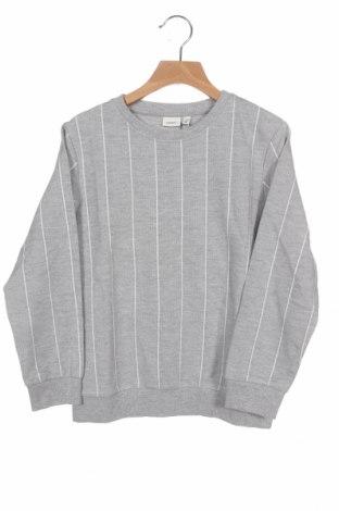 Детска блуза Name It, Размер 6-7y/ 122-128 см, Цвят Сив, 75% памук, 25% полиестер, Цена 15,30лв.