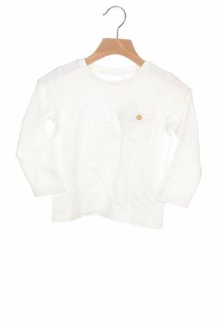 Детска блуза Name It, Размер 18-24m/ 86-98 см, Цвят Бял, Памук, Цена 12,60лв.