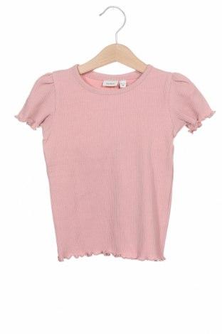 Dětská halenka  Name It, Velikost 18-24m/ 86-98 cm, Barva Růžová, 95% bavlna, 5% elastan, Cena  186,00Kč