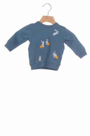 Детска блуза Name It, Размер 1-2m/ 50-56 см, Цвят Син, 95% памук, 5% еластан, Цена 19,20лв.