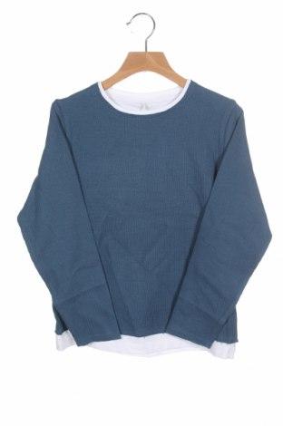 Детска блуза Name It, Размер 6-7y/ 122-128 см, Цвят Син, Памук, Цена 16,20лв.