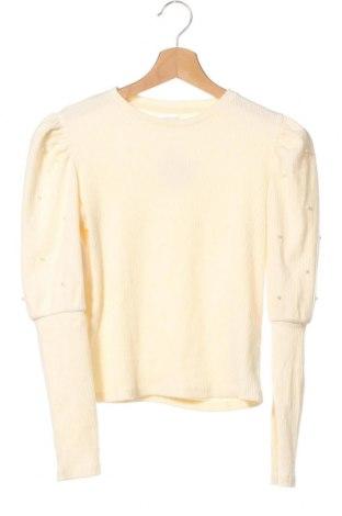 Παιδική μπλούζα Zara, Μέγεθος 10-11y/ 146-152 εκ., Χρώμα Εκρού, 48% πολυεστέρας, 46% βαμβάκι, 6% ελαστάνη, Τιμή 12,99€