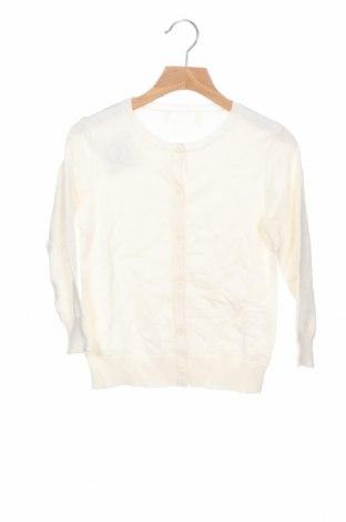 Детска жилетка, Размер 3-4y/ 104-110 см, Цвят Бял, Цена 18,90лв.