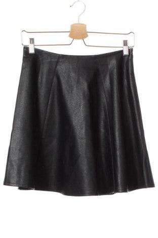 Dětská kožená sukně Primark, Velikost 12-13y/ 158-164 cm, Barva Černá, Eko kůže, Cena  387,00Kč