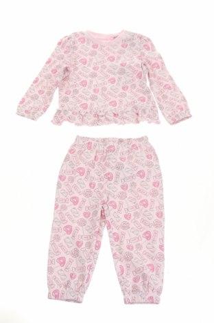 Dětské pyžamo Original Marines, Velikost 6-9m/ 68-74 cm, Barva Růžová, Bavlna, Cena  348,00Kč