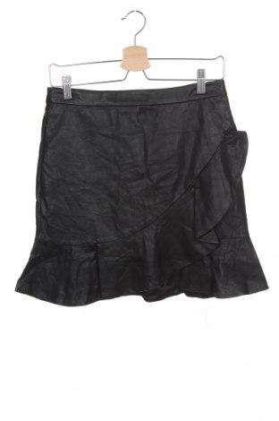 Детска пола Bardot, Размер 13-14y/ 164-168 см, Цвят Черен, Еко кожа, Цена 17,96лв.