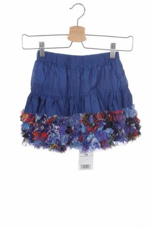 Детска пола Desigual, Размер 7-8y/ 128-134 см, Цвят Син, Полиестер, Цена 53,40лв.