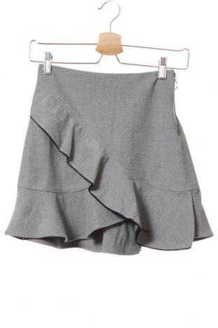 Παιδική φούστα Zara, Μέγεθος 12-13y/ 158-164 εκ., Χρώμα Γκρί, 63% πολυεστέρας, 33% βισκόζη, 4% ελαστάνη, Τιμή 13,51€