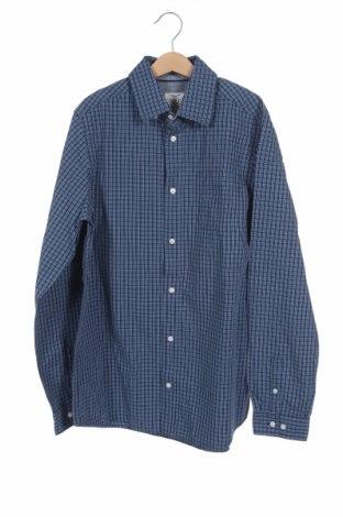 Παιδικό πουκάμισο Cyrillus, Μέγεθος 15-18y/ 170-176 εκ., Χρώμα Μπλέ, Βαμβάκι, Τιμή 11,04€