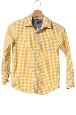 Dětská košile  Gap Kids, Velikost 9-10y/ 140-146 cm, Barva Žlutá, Bavlna, Cena  186,00Kč