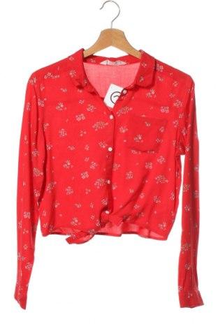 Dětská košile  H&M, Velikost 12-13y/ 158-164 cm, Barva Červená, Viskóza, Cena  230,00Kč