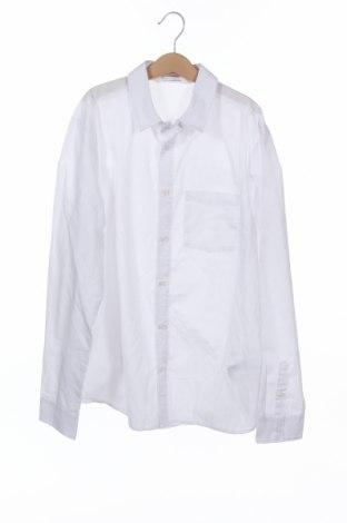 Dětská košile  H&M, Velikost 13-14y/ 164-168 cm, Barva Bílá, 65% polyester, 35% bavlna, Cena  244,00Kč
