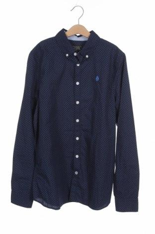 Παιδικό πουκάμισο Here+There, Μέγεθος 12-13y/ 158-164 εκ., Χρώμα Μπλέ, Βαμβάκι, Τιμή 11,04€