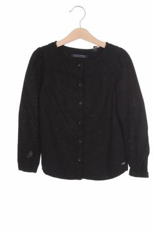 Παιδικό πουκάμισο Scotch R'belle, Μέγεθος 5-6y/ 116-122 εκ., Χρώμα Μαύρο, Lyocell, Τιμή 9,18€