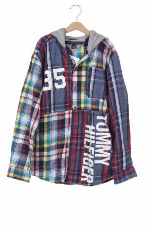 Dětská košile  Tommy Hilfiger, Velikost 15-18y/ 170-176 cm, Barva Vícebarevné, Bavlna, Cena  379,00Kč