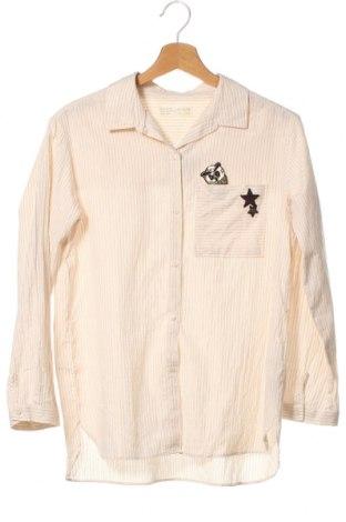Παιδικό πουκάμισο Zara, Μέγεθος 12-13y/ 158-164 εκ., Χρώμα Εκρού, 86% βαμβάκι, 10% πολυεστέρας, 4% άλλα νήματα, Τιμή 11,43€