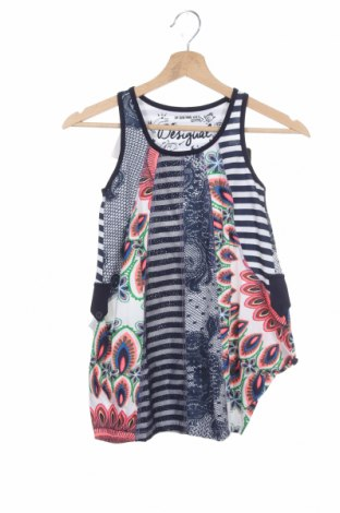 Детска рокля Desigual, Размер 5-6y/ 116-122 см, Цвят Многоцветен, Памук, Цена 41,40лв.