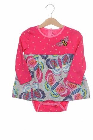 Детска рокля Desigual, Размер 12-18m/ 80-86 см, Цвят Розов, Памук, Цена 35,40лв.