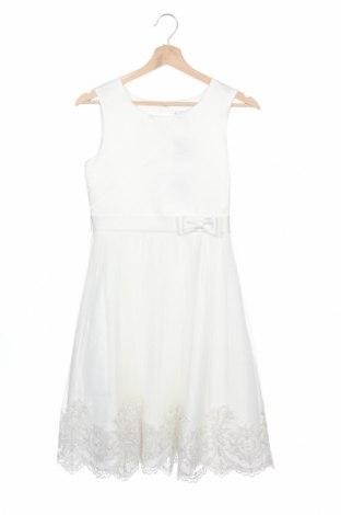 Детска рокля Happy Girls By Eisend, Размер 10-11y/ 146-152 см, Цвят Бял, Полиестер, Цена 34,22лв.