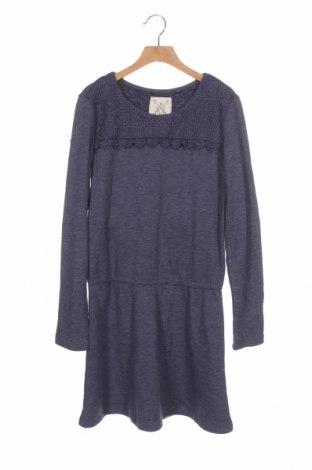 Dětské šaty  Here+There, Velikost 13-14y/ 164-168 cm, Barva Fialová, 78% polyester, 22% polyamide, Cena  462,00Kč