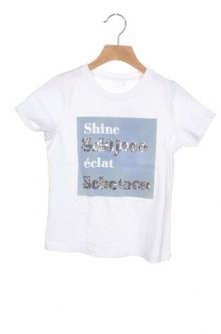 Dětské tričko  Name It, Velikost 6-7y/ 122-128 cm, Barva Bílá, 95% bavlna, 54% elastan, Cena  162,00Kč