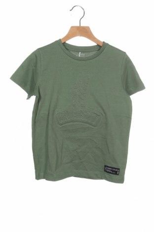 Tricou pentru copii Name It, Mărime 6-7y/ 122-128 cm, Culoare Verde, Bumbac, Preț 51,32 Lei