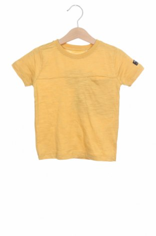 Tricou pentru copii Name It, Mărime 18-24m/ 86-98 cm, Culoare Galben, Bumbac, Preț 55,27 Lei