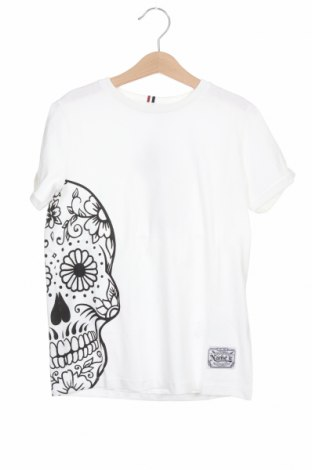 Детска тениска Name It, Размер 6-7y/ 122-128 см, Цвят Бял, Памук, Цена 11,20лв.