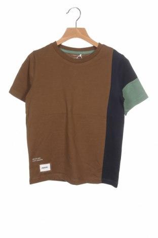 Tricou pentru copii Name It, Mărime 6-7y/ 122-128 cm, Culoare Maro, Bumbac, Preț 55,27 Lei