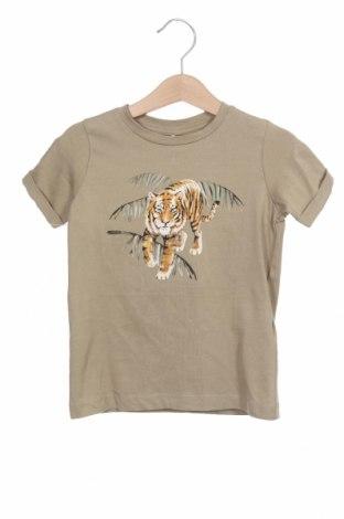 Tricou pentru copii Name It, Mărime 18-24m/ 86-98 cm, Culoare Verde, 95% bumbac, 5% elastan, Preț 55,27 Lei