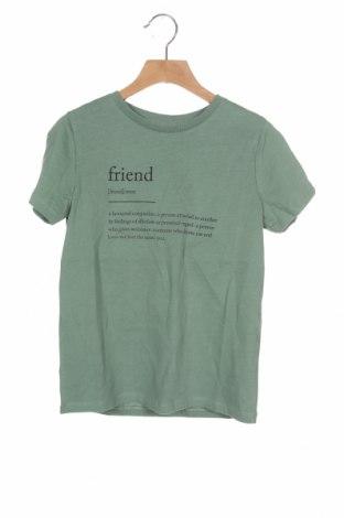 Dětské tričko  Name It, Velikost 6-7y/ 122-128 cm, Barva Zelená, Bavlna, Cena  151,00Kč
