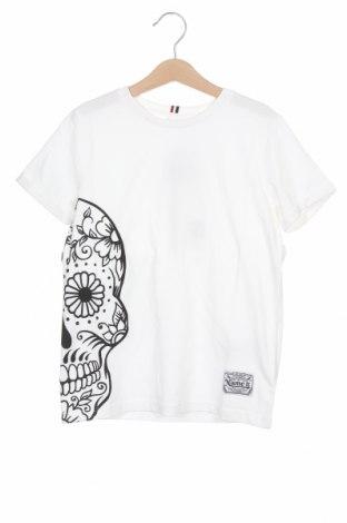 Tricou pentru copii Name It, Mărime 6-7y/ 122-128 cm, Culoare Alb, Bumbac, Preț 55,27 Lei