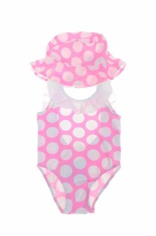 Детски бански Lola Palacios, Размер 18-24m/ 86-98 см, Цвят Розов, 92% полиамид, 8% еластан, Цена 28,42лв.