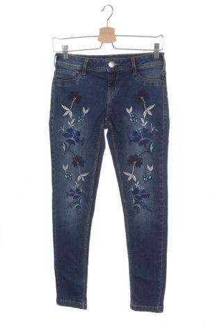 Dětské džíny  Here+There, Velikost 12-13y/ 158-164 cm, Barva Modrá, 98% bavlna, 2% elastan, Cena  367,00Kč