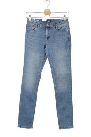Детски дънки Jack & Jones, Размер 12-13y/ 158-164 см, Цвят Син, 70% памук, 28% полиестер, 2% еластан, Цена 27,56лв.