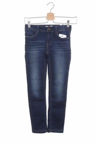Dětské džíny  Name It, Velikost 7-8y/ 128-134 cm, Barva Modrá, 70% bavlna, 27% polyester, 3% elastan, Cena  362,00Kč