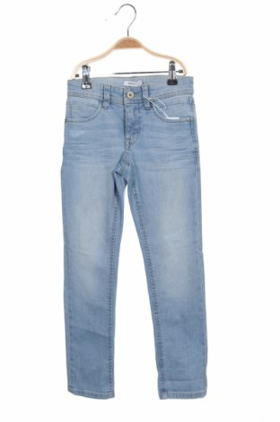 Dětské džíny  Name It, Velikost 7-8y/ 128-134 cm, Barva Modrá, 77% bavlna, 22% polyester, 1% elastan, Cena  362,00Kč