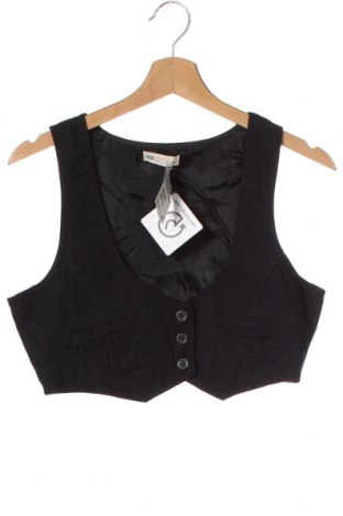 Dětská vesta  H&M, Velikost 15-18y/ 170-176 cm, Barva Černá, 100% bavlna, Cena  178,00Kč