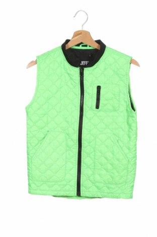 Dětská vesta  Jeff, Velikost 11-12y/ 152-158 cm, Barva Zelená, Polyester, Cena  333,00Kč