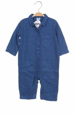 Salopetă pentru copii. Arket, Mărime 9-12m/ 74-80 cm, Culoare Albastru, 100% lyocell, Preț 154,74 Lei